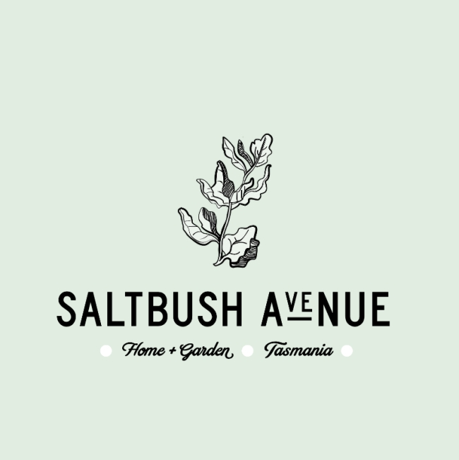 Saltbush brand on green